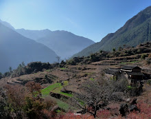 Village overlooking Leaping Tiger Gorge