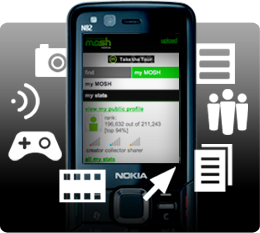 Download free games apps Nokia MOSH
