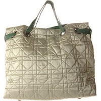 Big Buddha Quilted Satin Shopper