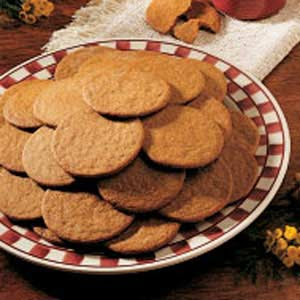 History in the Baking: Cookies ~ Gingersnaps