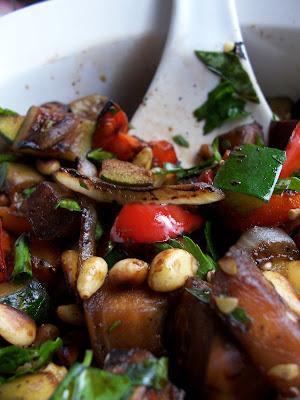 """Yeah, That """"Vegan"""" Shit: Grilled Ratatouille Salad"""