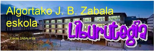 Liburutegia: Algortako J. B. Zabala Eskola