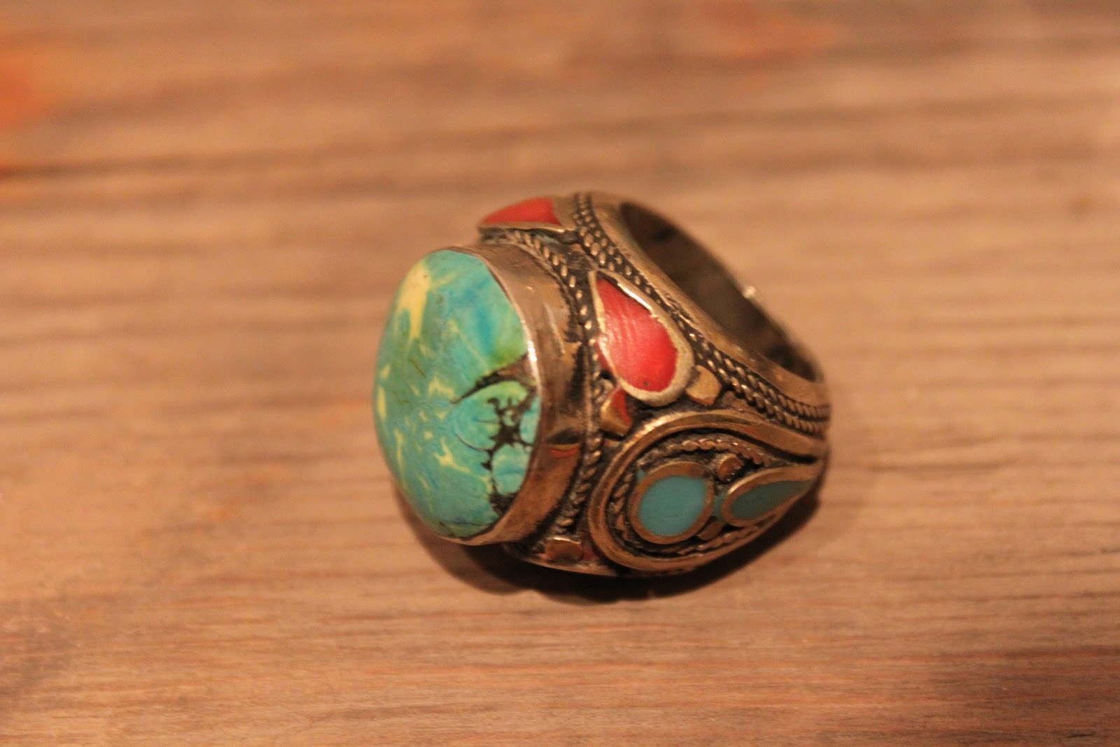 shop 5 inch and up handmade turquoise ring 11