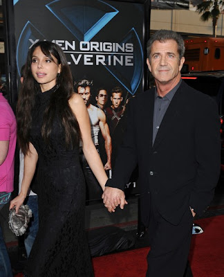 Mel Gibson with Girlfriend in Public
