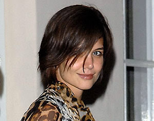 katie holmes hairstyles 2011