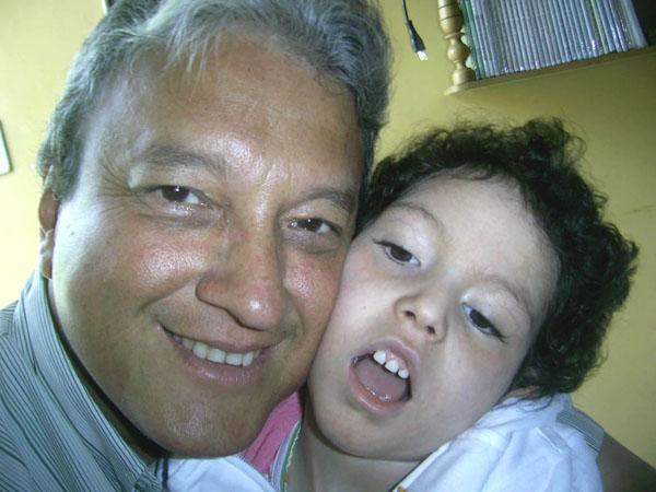 DANIELA VELEZ PACHECO y su papá