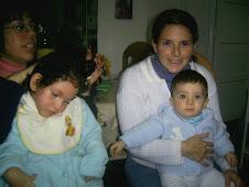 Daniela en familia