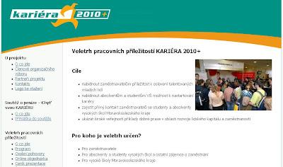 Kariéra 2010 - Veletrh pracovních příležitostí