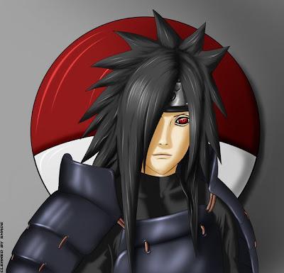 Naruto tipos de sharingan