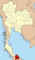 Map showing the deep south provinces