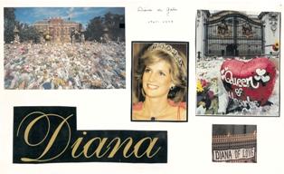 DIANA PRINCESA DE GALES (Reina de Corazones)