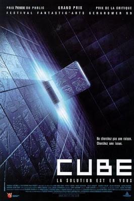 Filme Poster Cubo DVDRip RMVB Legendado