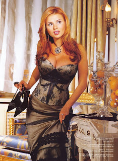 Fecha hermosa mujer rusa y