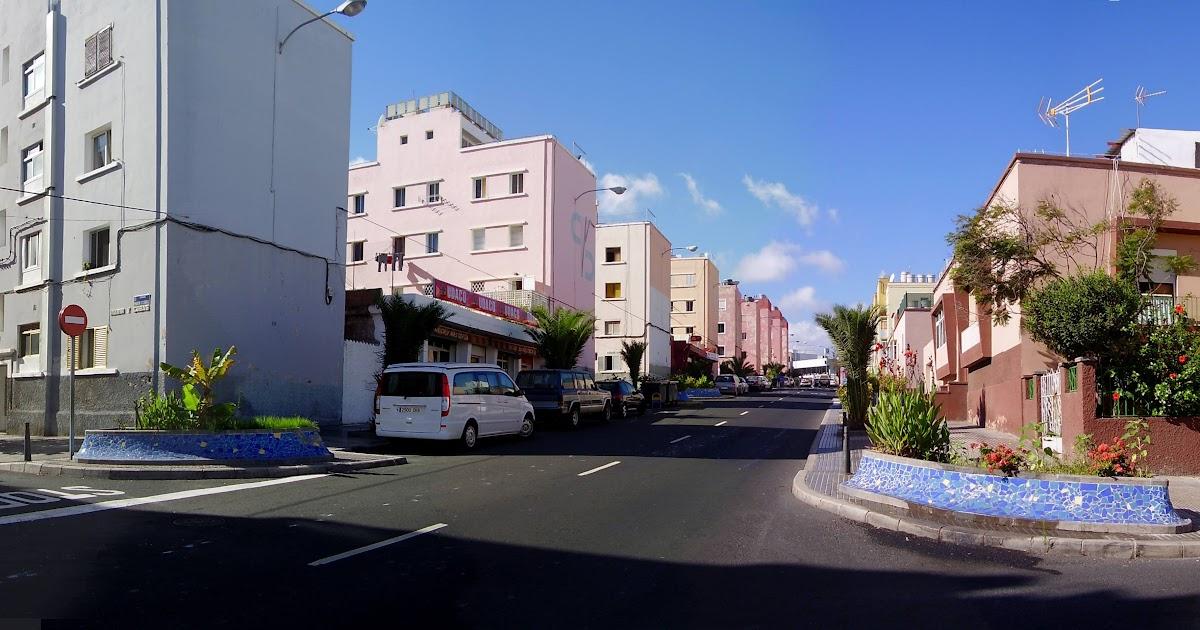 Canarias panor micas barrio de escaleritas en las palmas for Cristalerias en las palmas de gran canaria