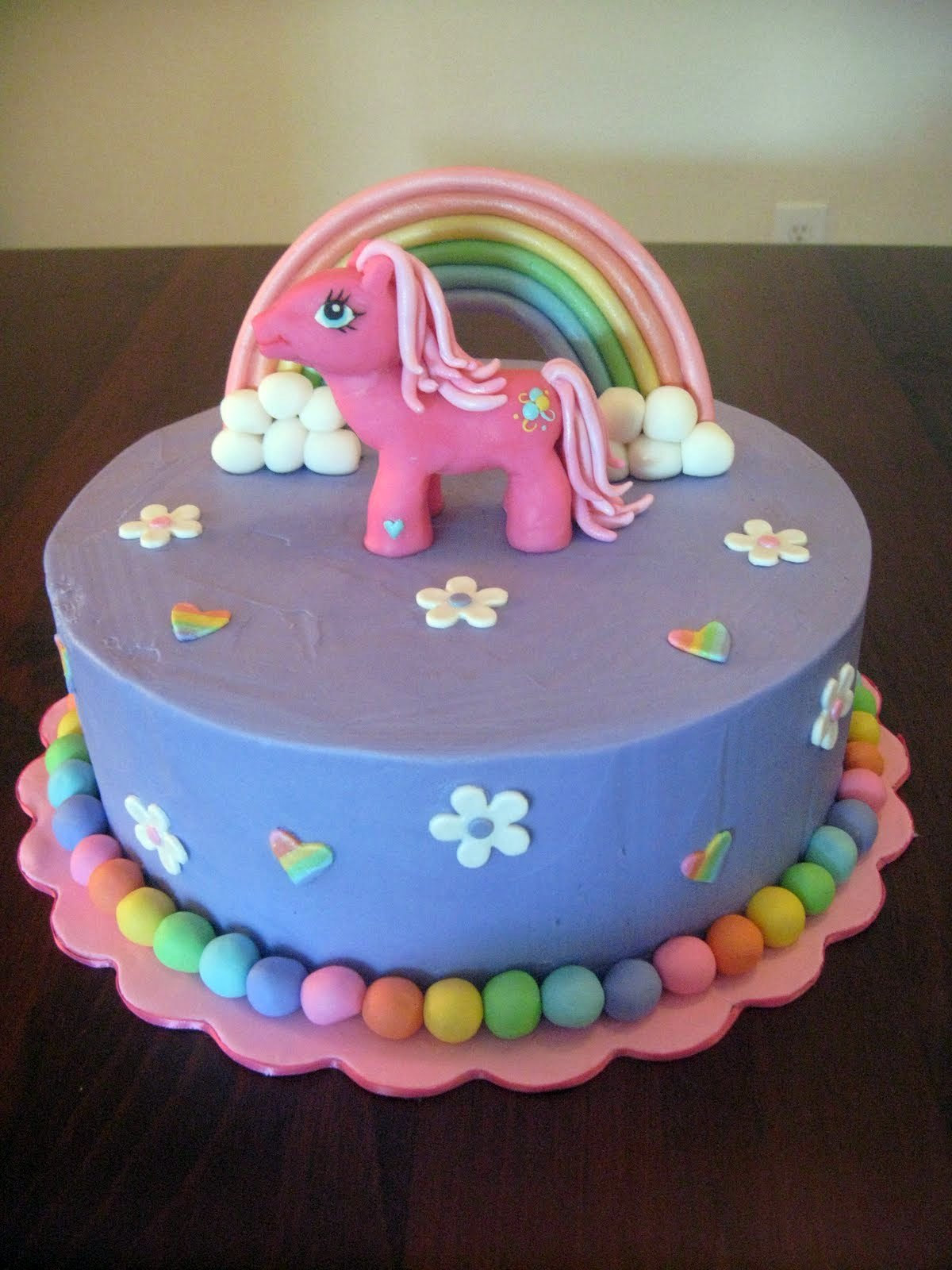 my little poney cake