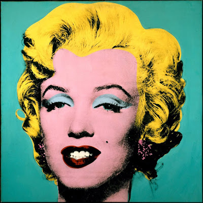 andy warhol wallpaper. Turquoise Marilyn (1964) by Andy Warhol. Your taste determines what kind of