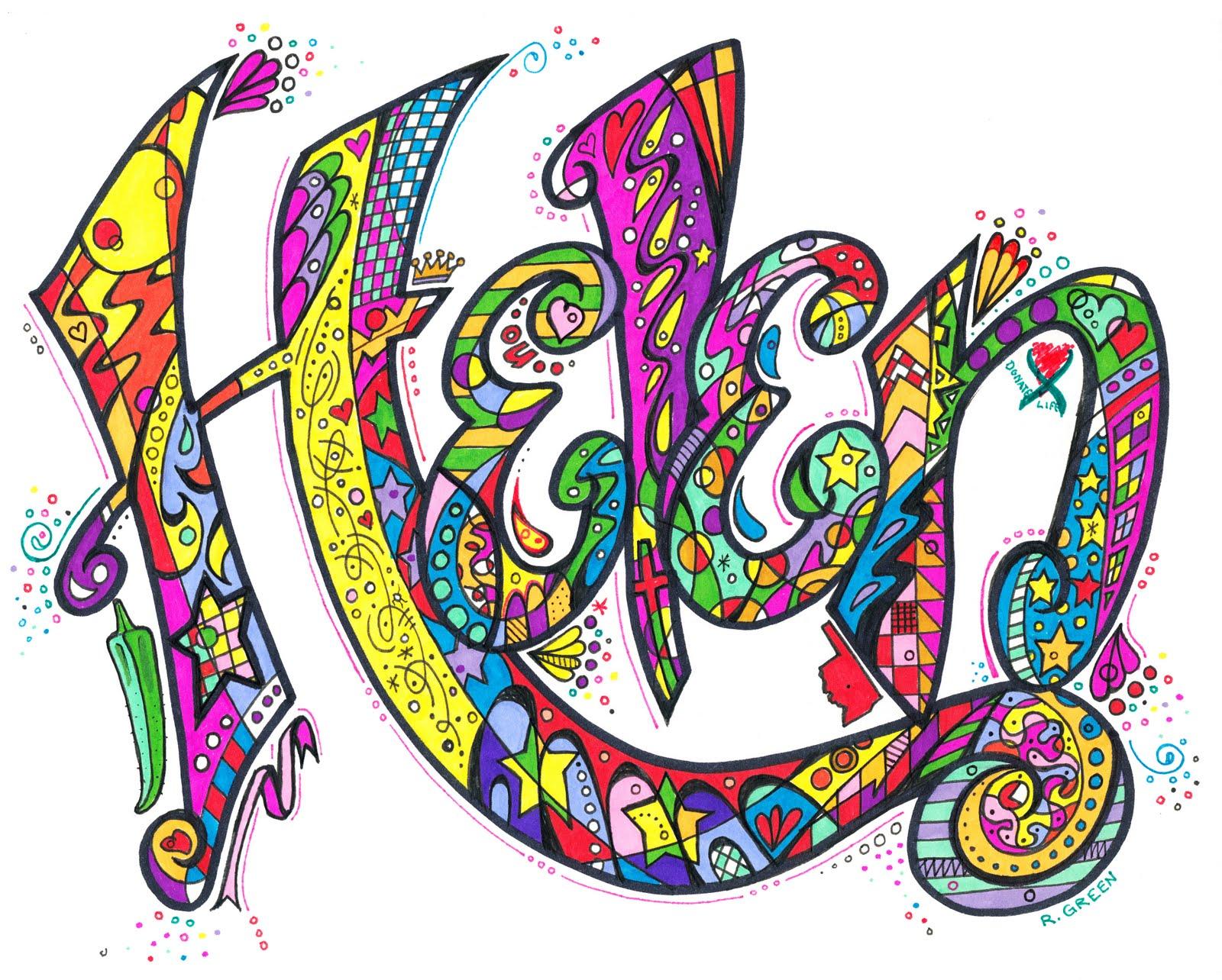word designs