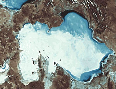Salar de Uyuni from Space