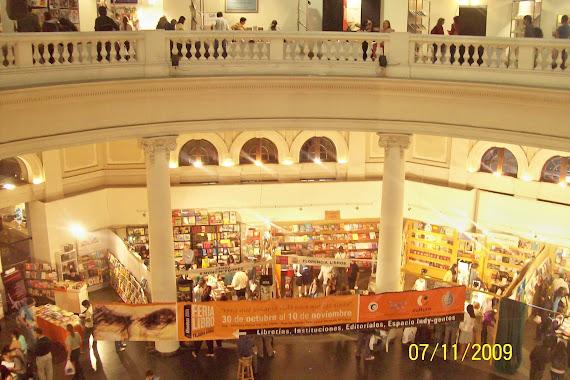 La Biblioteca Presente en la Feria del Libro de Mendoza  Edicion 2009