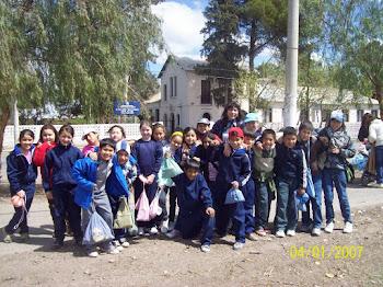 Promocion del Habito de la Lectura con chicos de la Esc. J J Castelli
