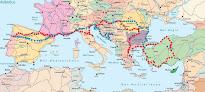 Mapa da Viagem à Capadócia