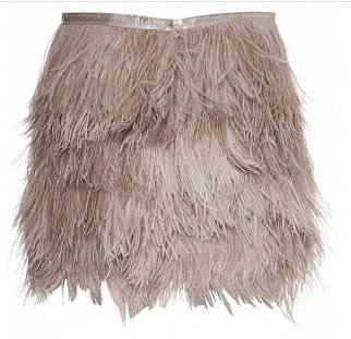 falda pluma topshop