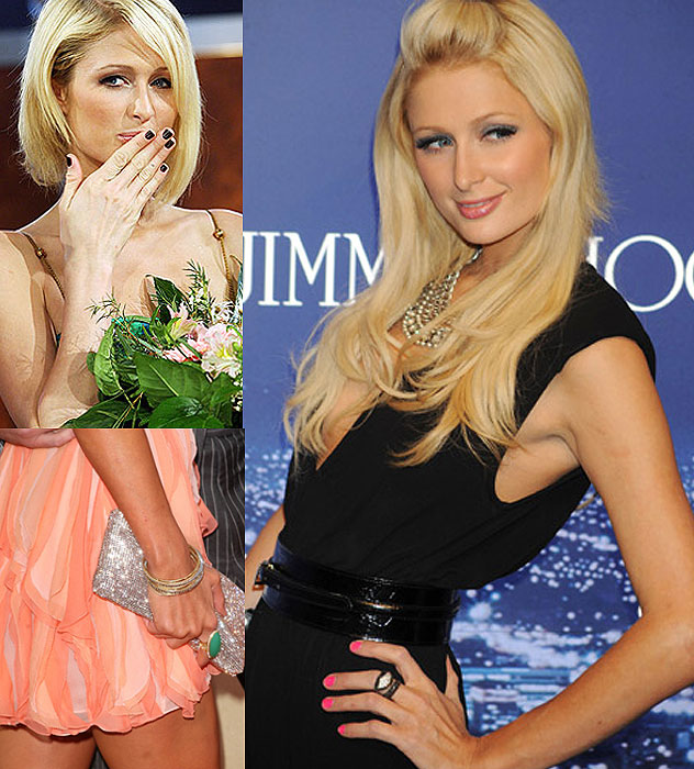 nail, Paris Hilton, nail trend
