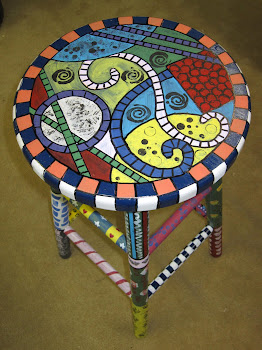 Kaleidoscope Stool