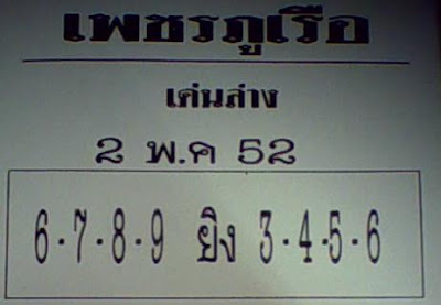 Best Thai Lotto Digits For 02 May Thai Lottery Draw