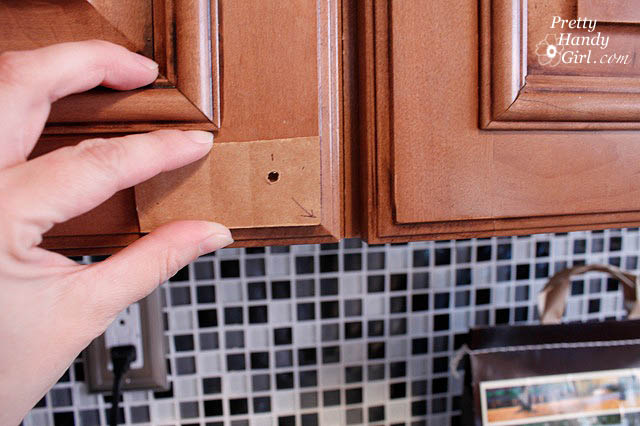 Installing Cabinet Knobs - Pretty Handy Girl