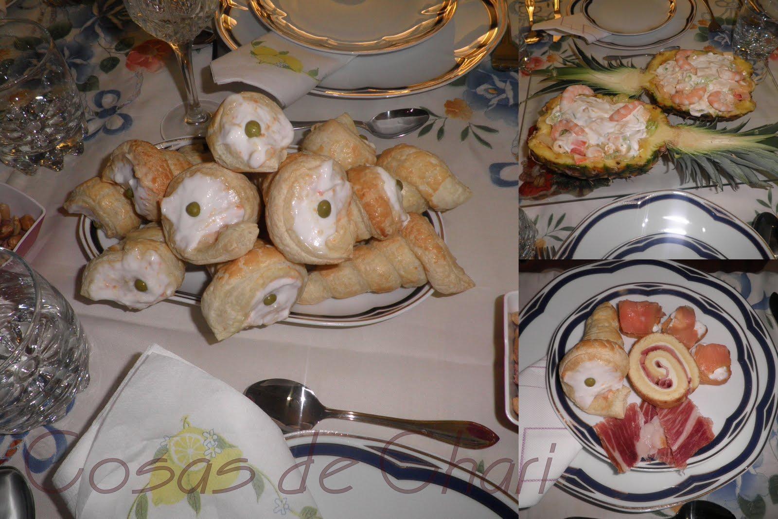 Cosas de chari cena de nochevieja 2010 for Comidas para nochevieja