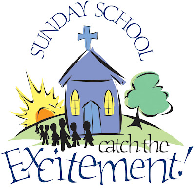It is Sunday school time at Our Savior's Lutheran Church and we hope you and