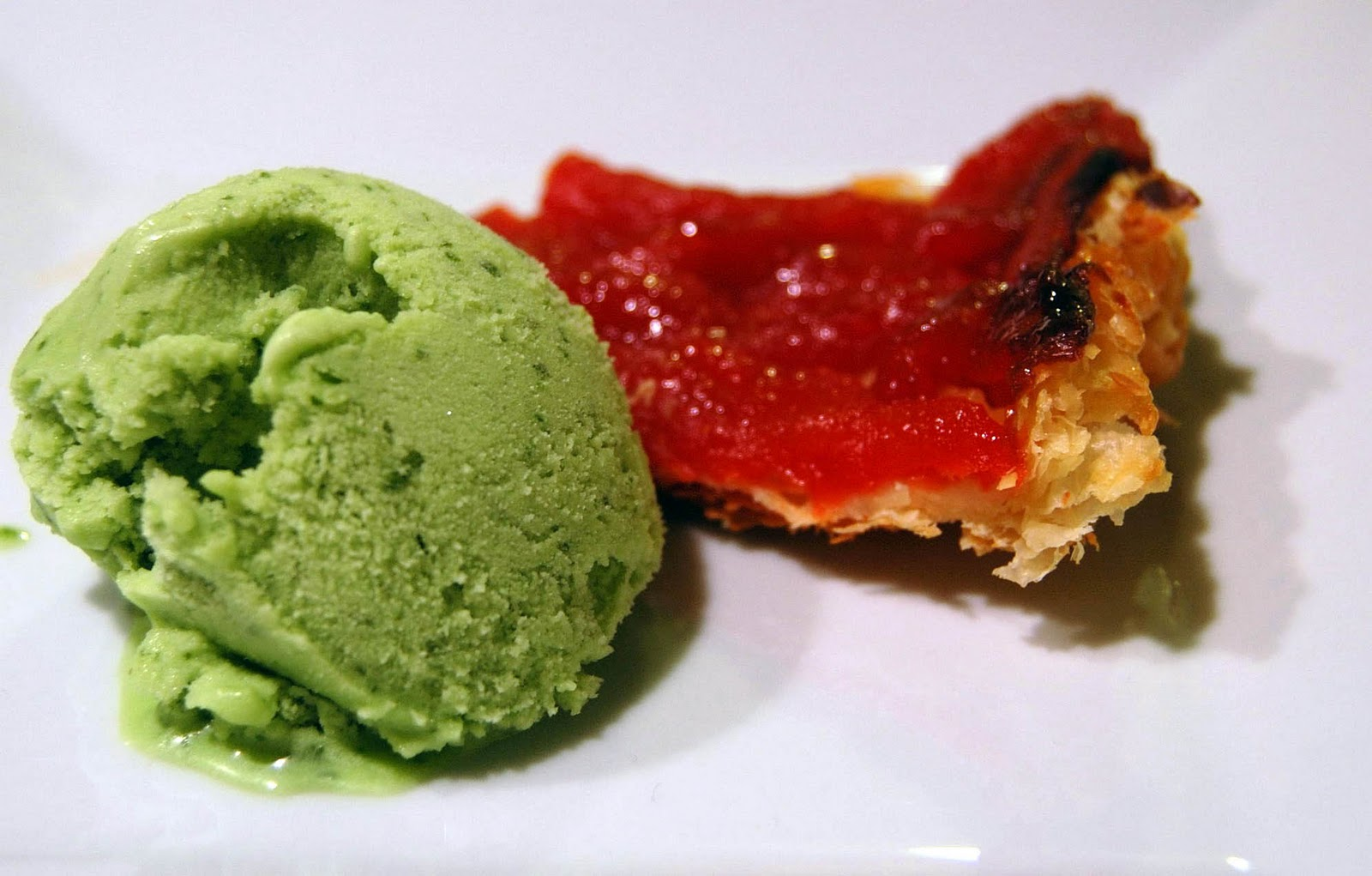 Tri to Cook: Sweet Basil Ice Cream