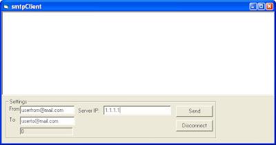 SMTP client