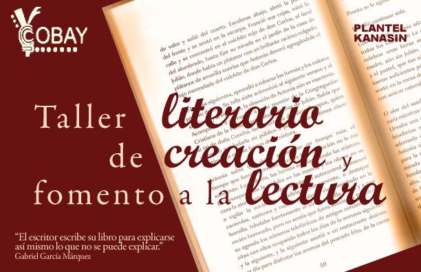 TALLER LITERARIO  Y DE FOMENTO A LA LECTURA