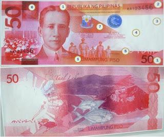 Philippines 50 Pesos