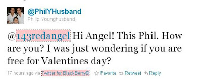Phil Younghusband Inviting Angel Locsin For A Valentine's Date