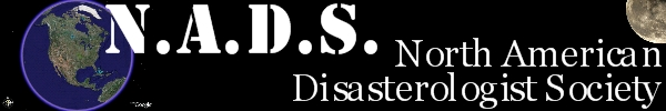 N.A.D.S. North American Disasterologist Society