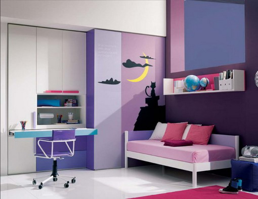 Charming Purple Bedroom Ideas For Teen
