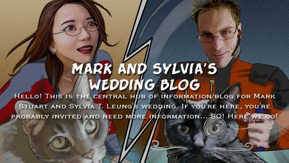 Mark and Sylvia's Wedding Blog!!