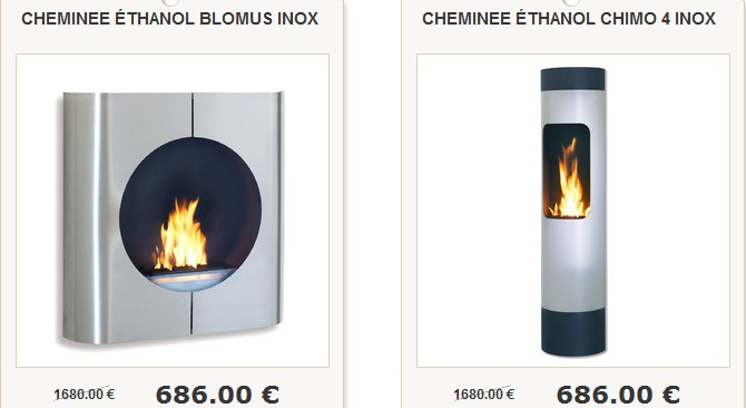 chemin e bio ethanol blomus. Black Bedroom Furniture Sets. Home Design Ideas