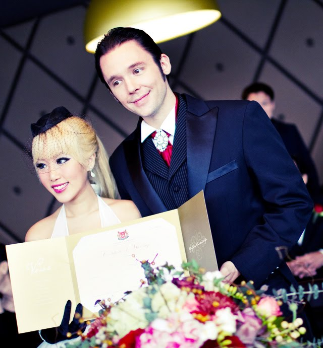 Xiaxue and mike wedding