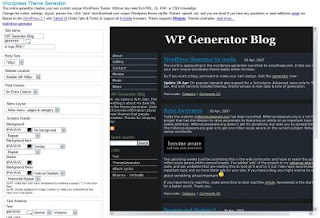 Free Wordpress Themes Generator