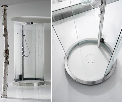 Transtube 360-degree shower Creative Technology from Roca