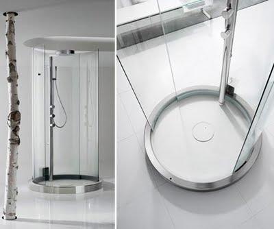 Transtube 360-degree shower Creative Technology from Roca