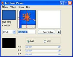 freeware html color picker