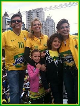 Marcha para Jesus 2010. Mais acesse: www.igospel.com.br