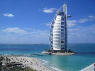 Burj-Al-Arab Hotel | hotel tertinggi di dunia