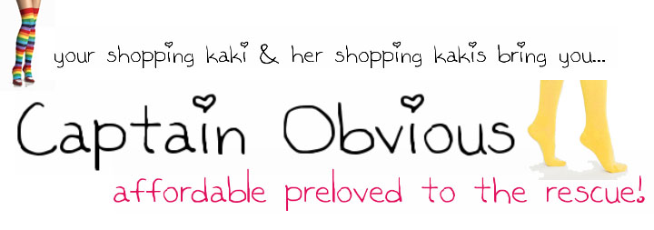 Captain Obvious: Preloved Blogshop