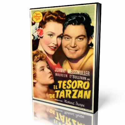 El tesoro de Tarzan [dvdrip][spanish]